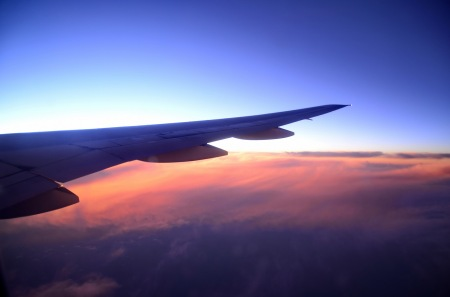 sunset-airplane-SAM-Cheong