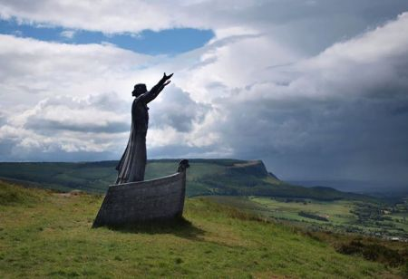 Manannan mac Lir Statue, by Rodney Harrison