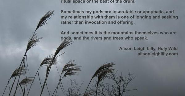 Gods Like Mountains, Gods Like Mist, by Alison Leigh Lilly