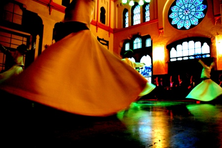 """let's dance! Mevlevi Sufi Whirling Dervishes,"" by Tinou Bao (CC)"