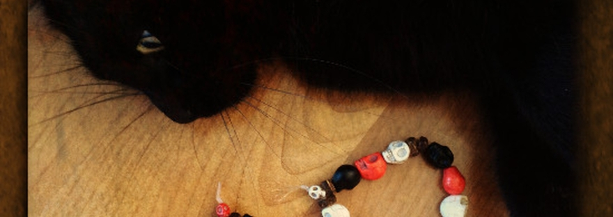 Ancestor Prayer Beads Samhain Craft